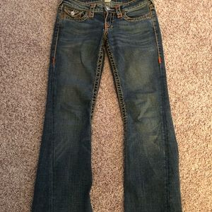 True Religion Flare Jeans.  Size 28.
